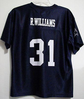 Dallas Cowboys for Her R Willams Medium Football Polyester Blue Jersey Halloween](Halloween Dallas)