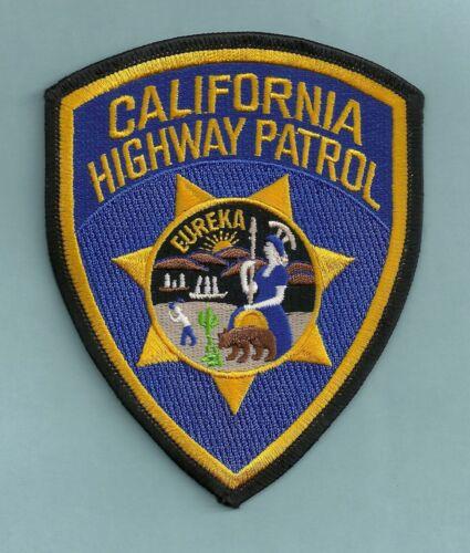 CALIFORNIA HIGHWAY PATROL CHP POLICE SHOULDER PATCH
