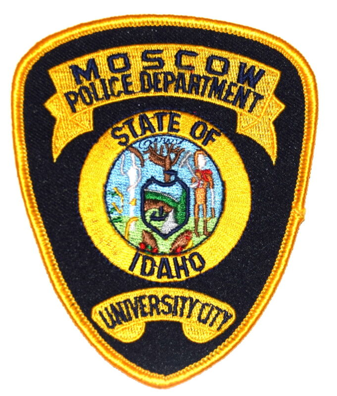 MOSCOW IDAHO ID Police Sheriff Patch STATE SEAL ~