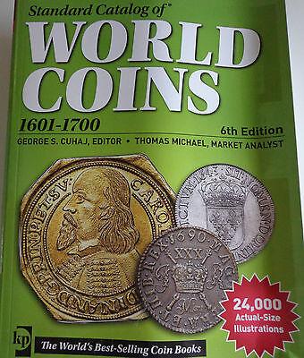 Standard Catalog of World Coins 1601-1700 englisch 6th Edition NEUESTE AUSGABE