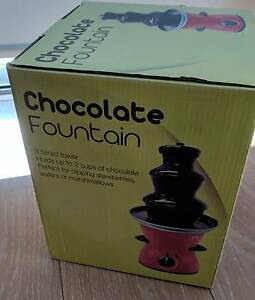 Chocolate Fondue Fountain (Unused and in Box) Hornsby Hornsby Area Preview