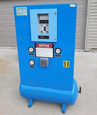 Thermco 8555 Gas Mixer 0-2 Nitrogen In Argon 0-1500 Scfh 10-50 Psig 115v