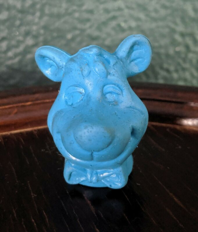 Vintage 1976 Yogi Boo Boo Bear Pencil Topper Blue RARE