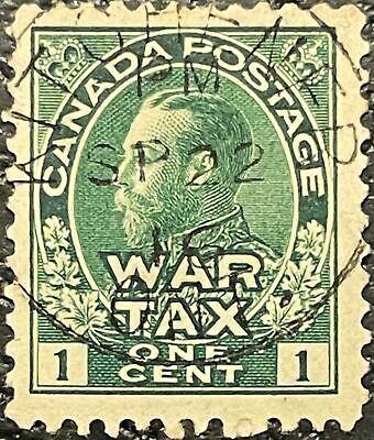 SC#MR1 1c War Tax KITCHENER ONT SP 22 16