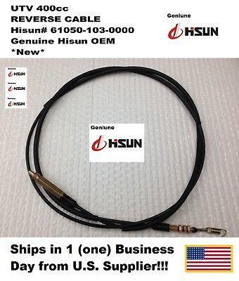 UTV 400cc, REVERSE CABLE, #61050-103-0000, Hisun, Bennche, and More!
