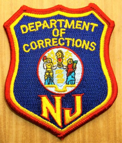 GEMSCO NOS PATCH PHUN DOC CORRECTIONS OFFICER NEW JERSY - NJ - VINTAGE vM1