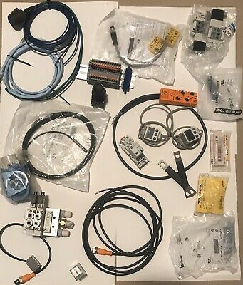 Lot Of Misc Electrical Automation Control Components New Used Parts