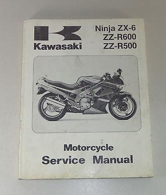 Werkstatthandbuch Kawasaki Ninja Zx 7 R Zx 7 Rr Zx750 P N Reparaturanleitung