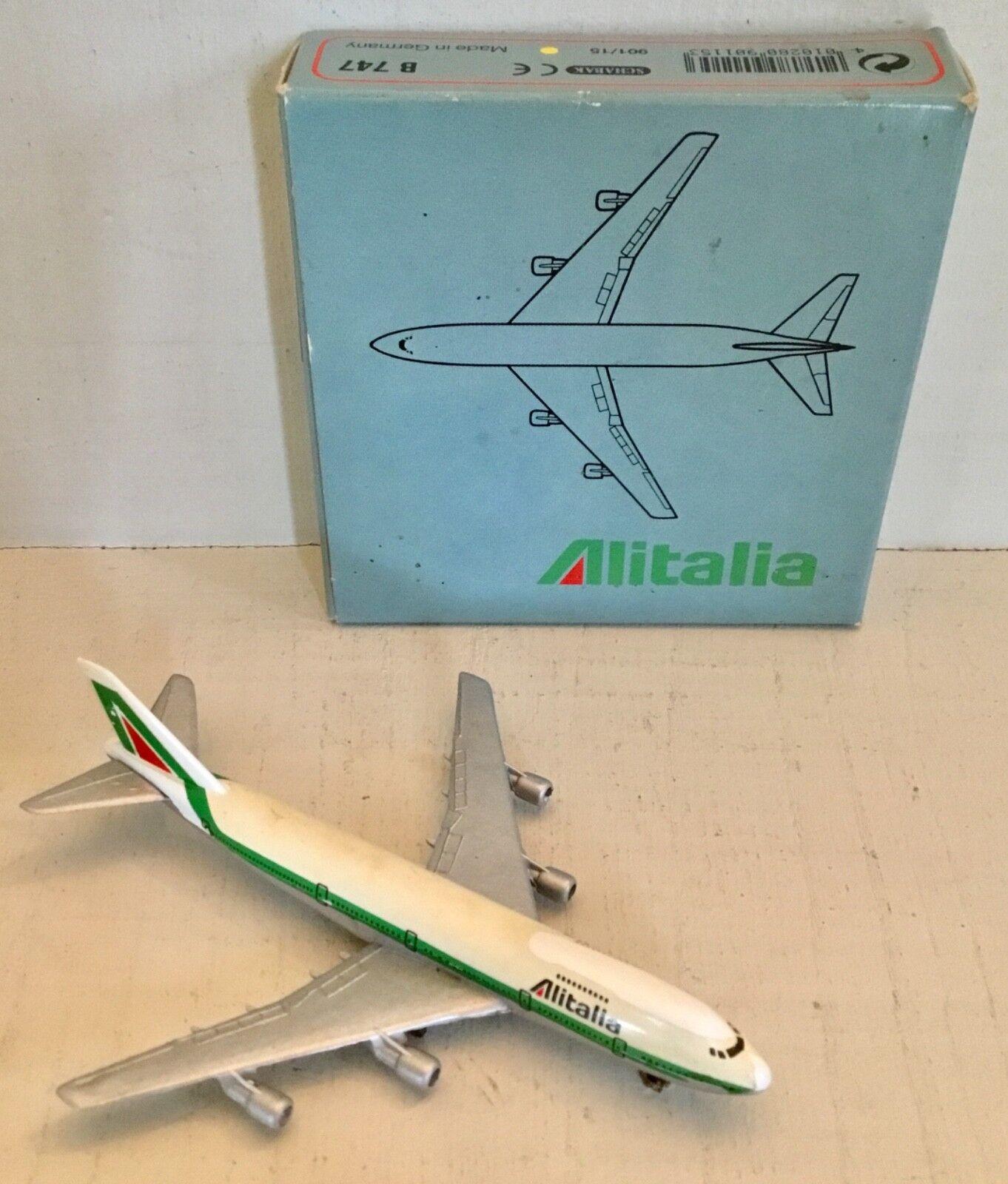 ALITALIA Boeing 747 SCHABAK Germany Original box