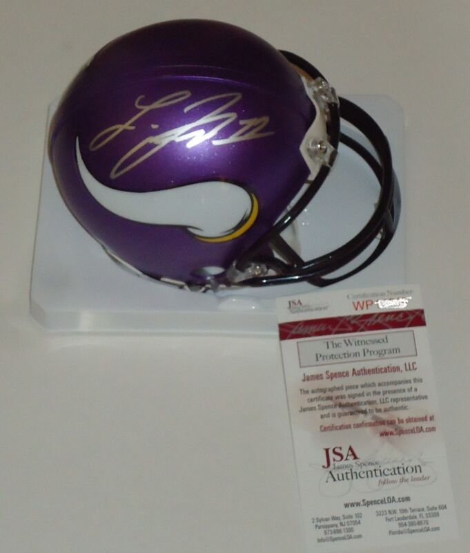 Laquon Treadwell signed Minnesota Vikings mini football helmet JSA Wittnesed