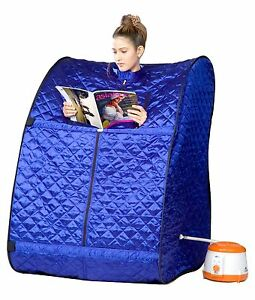 New Portable Therapeutic Steam Sauna  Body Cover-Lose Fat -Free shipping@eBay UK