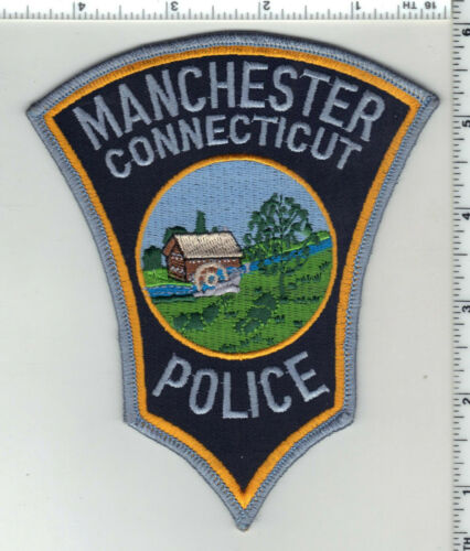 Manchester Police (Connecticut) 4th Issue Shoulder Patch