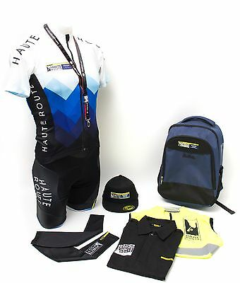 Mavic Men Road Bike Jersey Bib Shorts Small 2017 Haute Route Finisher Colorado