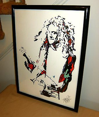 Robert Plant Led Zeppelin Stairway to Heaven Music Poster Print Wall Art 18x24 ()