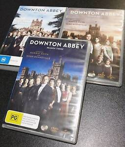DVDs: Downton Abbey Seasons 3/4/6 Mayfield West Newcastle Area Preview
