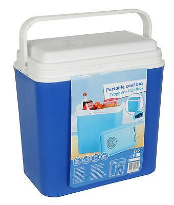 12V elektrische Kühlbox 22 Liter Reise Camping Mini Kühlschrank 12 Volt Auto