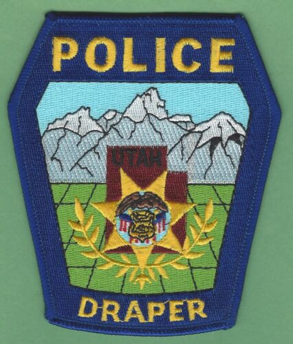 DRAPER UTAH POLICE SHOULDER PATCH