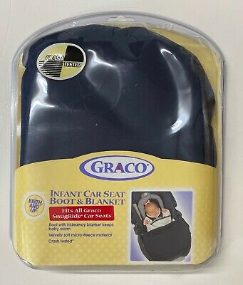 Graco Infant Car Seat Boot & Blanket For All SnugRide Car Seats - Crash Tested