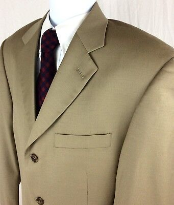 Giorgio Cosani Men's 40R Super 120s Wool Cashmere Blazer Sport Coat Suit Jacket