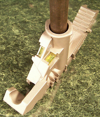 Conduit Bender With 2 Level Bubbles 34 Capacity Heavy Duty Metal Construction