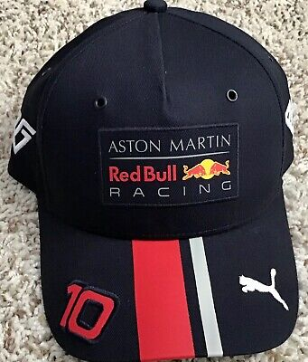 Awesome Adjustable Formula One Racing/Red Bull/Pierre Gasly Puma Brand Hat.