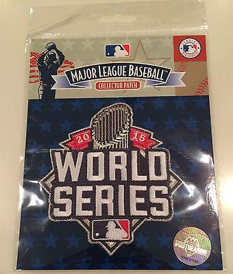 MLB Baseball 2015 Jersey Patch World Series New Postseason Royal Mets Clothes