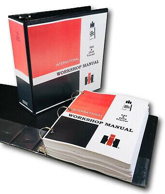 International Farmall 544 2544 Tractor Service Repair Manual Shop Book Engine