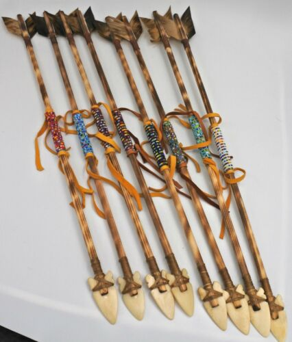 Native American  Arrow Navajo Handmade Beaded 20 Inches Longs 1 Arrow