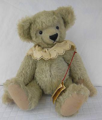 COLLECTORS JOHANNA HAIDA SWEET BABY TEDDY BEAR MADE IN GERMANY