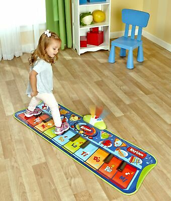 Step-to-Play Piano Mat - Musical Electronic Floor Keyboard f