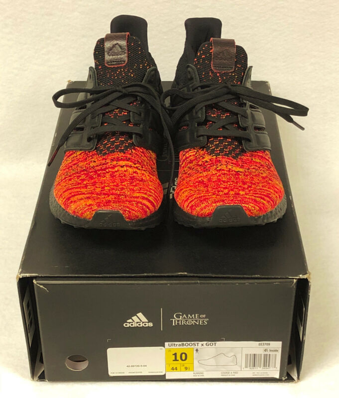 Adidas Ultra Boost x Got Game of Thrones EE3709 Shoes Mens Size 10 New In Box