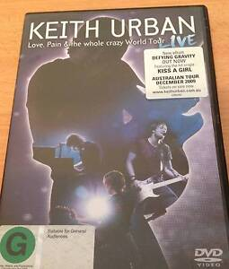 KEITH URBAN - MUSIC DVD Berwick Casey Area Preview