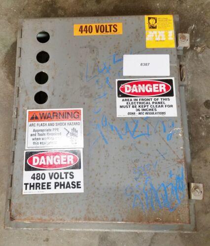 "HoffmanElectrical Enclosure 20""x16""x7.5""  #8387"