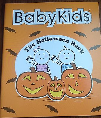 BabyKids Halloween Book for Toddlers, Pre-K  - Halloween Books For Toddlers