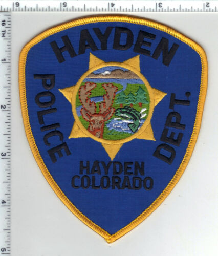 Hayden Police (Colorado) Shoulder Patch from the 1980s