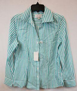 Foxcroft 100 cotton wrinkle free women buttondown casual for 100 cotton work shirts