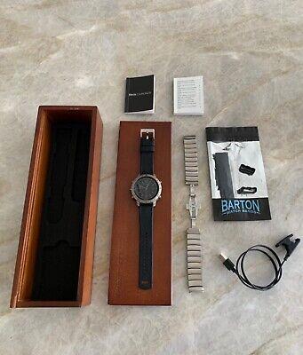 Garmin fenix CHRONOS, Titanium w/ Brushed Titanium Watch Band, Sapphire Crystal