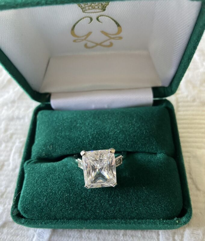 Clarion Pell Princess Grace Replica Engagement Ring