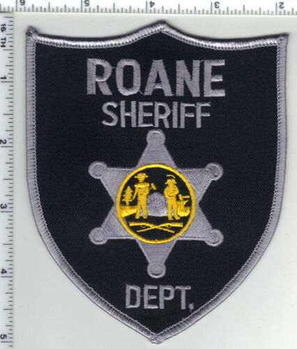 Roane Sheriff Dept. (West Virginia) 2nd Issue Shoulder Patch