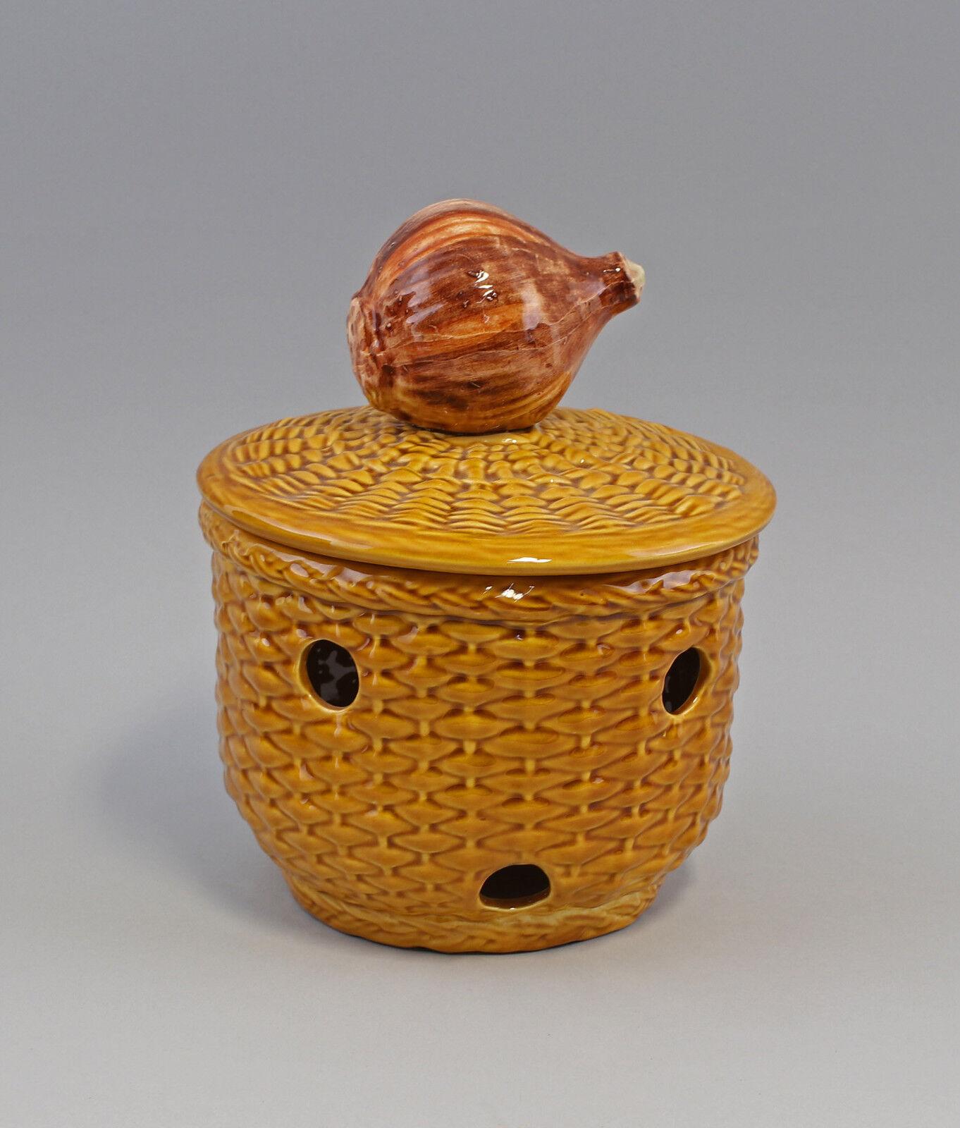 9918640 CIPOLLA Pentola ceramica maiolica PORTUGAL
