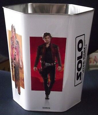 Solo - A Star Wars Story Hexagonal Popcorn Tin Tub Collectible FAST Shipping