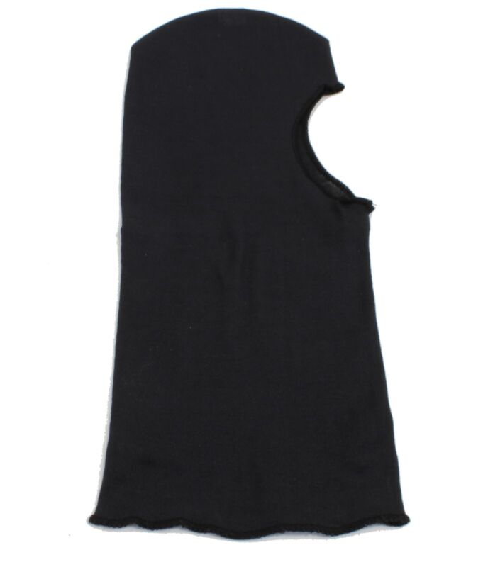"""HATCH LIGHTWEIGHT 18"""" MADE WITH KEVLAR FACEMASK POLICE SWAT TACTICAL HOOD BLACK"""