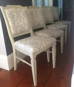 4 x Vintage Dining Chairs - Fully Restored Balmain East Leichhardt Area Preview