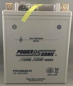 New Motorbike ATV Battery Powersonic PTX14AHLBS-FS Factory Sealed Morningside Brisbane South East Preview
