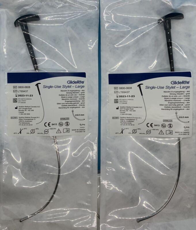 Glidescope GLIDERITE Rigid Stylet (2 pack) - VERATHON [Ref #0800-0608]