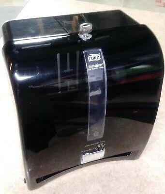 Tork Intuition H1 Hands Free Paper Towel Dispenser Black Case W Key - 309608