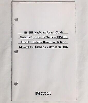 Hewlett-Packard HP HP-HIL Keyboard User's Guide MANUAL ONLY Still Sealed New Hewlett Packard Users Guide