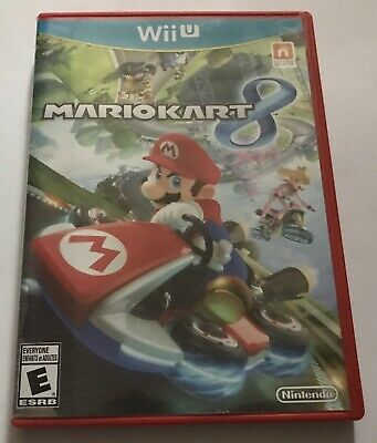 Mario Kart 8 For Nintendo Wii U, Complete W/ Inserts, Excellent Condition!