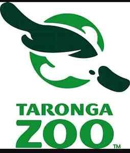 Taronga zoo passes Punchbowl Canterbury Area Preview