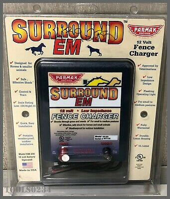 Parmak Precision Surround Em Em-200 12-volt Low Impedance Fence Charger